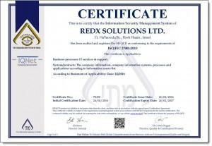 RedX ISO-27001
